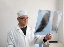Doktorschauen Stockfoto