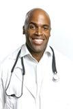 doktorscy Amerykanin afrykańskiego pochodzenia potomstwa Obraz Royalty Free