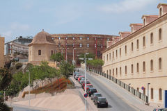 Doktorska flamand ulica cartagena Spain Zdjęcia Stock