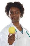 doktorska jabłko kobieta Zdjęcia Stock