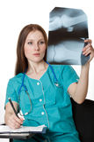 doktorska kobieta Zdjęcie Royalty Free