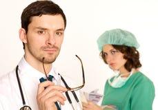 doktorska medyczna pielęgniarka Zdjęcie Royalty Free