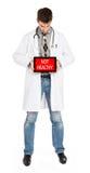 Doktorska mienie pastylka - zdrowa obraz royalty free