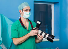 Doktorska robi naukowa dokumentacja zdjęcie royalty free