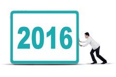 Doktorski dosunięcie billboard z liczbą 2016 Fotografia Royalty Free