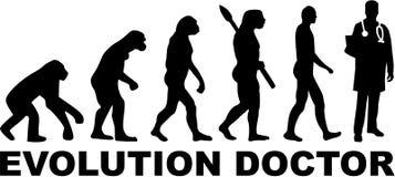 Doktorski ewolucja wektor ilustracji