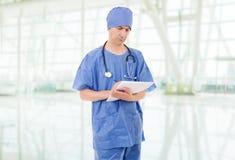 Doktorski główkowanie zdjęcie stock