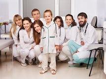 doktorski grupowy szpital fotografia stock