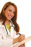 doktorski ja target1403_0_ Obrazy Stock
