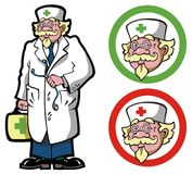 doktorski lekarz Obrazy Royalty Free