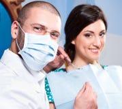 doktorski męski pacjent Zdjęcie Royalty Free
