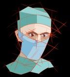 doktorski maskowy medyczny Zdjęcia Royalty Free