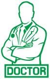 doktorski medyczny Royalty Ilustracja