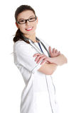 doktorski medyczny ja target1679_0_ pielęgniarki Zdjęcia Royalty Free