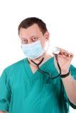doktorski medyczny stetoskop Obraz Royalty Free