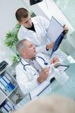 Doktorski opieki zdrowotnej i medycyny szpital obraz stock