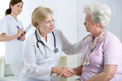 doktorski pacjent obrazy stock