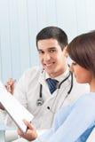 doktorski pacjent Zdjęcie Stock