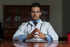 Doktorski portret zdjęcie royalty free