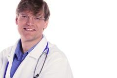 doktorski przystojny męski ja target1263_0_ Zdjęcie Stock