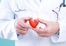 doktorski serce obrazy stock