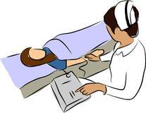 doktorski sphygmomanometer Fotografia Stock