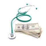 Expences dla opieki zdrowotnej Fotografia Royalty Free