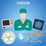 Doktorskirurgbegrepp Arkivbilder