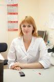 doktorsläkarundersökning Fotografering för Bildbyråer