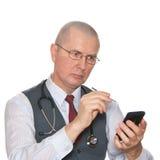 doktorsläkarundersökning Arkivbild