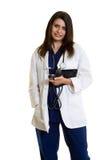 doktorsläkarundersökning Royaltyfri Fotografi