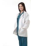 doktorslady arkivfoton