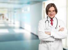 doktorssjukhusmanlig arkivfoton