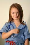 doktorssjuksköterska royaltyfri foto