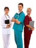 doktorssjuksköterska Arkivbild