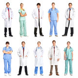 doktorssjuksköterskor Arkivbilder