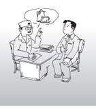 doktorstålmodig Fotografering för Bildbyråer