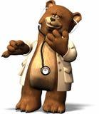 doktorze bear Fotografia Royalty Free