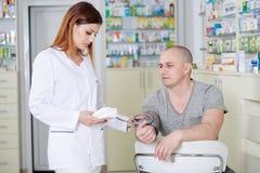 - doktorze ciśnienie krwi Zdjęcie Stock