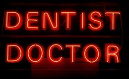 doktorze dentysty Zdjęcia Royalty Free