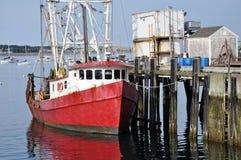 doku łódkowaty połów Zdjęcia Stock