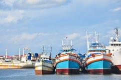 doku łódkowaty rybołówstwo Thailand Obrazy Stock