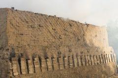 Dokumentär hand - gjorda tegelstenar i Indien Royaltyfri Foto
