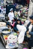 Dokumentär redaktörs- bild Typisk marknad på Bali Arkivbild