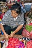 Dokumentär redaktörs- bild Typisk marknad på Bali Fotografering för Bildbyråer