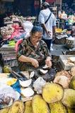 Dokumentär redaktörs- bild Typisk marknad på Bali Royaltyfri Fotografi