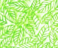 Dokument med olika förslag blom- grön tygtextur Arkivbild