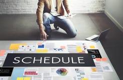 Dokument strategii marketingowej biznesu pojęcie Zdjęcie Stock