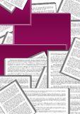 Dokumente Lizenzfreies Stockbild