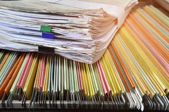 Dokumente lizenzfreie stockbilder